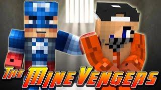 getlinkyoutube.com-Minecraft MineVengers - PRISON ESCORT FOR THE CAR THIEF!!!