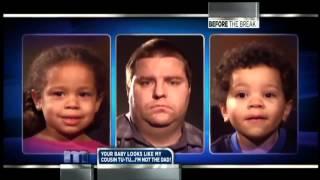 getlinkyoutube.com-Maury: White parents black kids DNA TEST **FUNNY!**