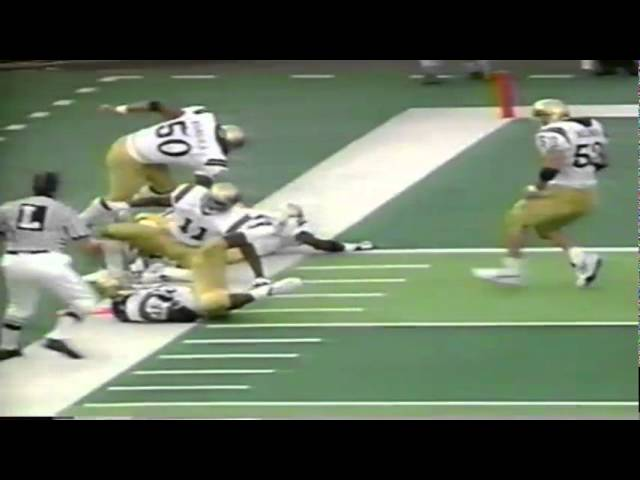 Oregon QB Akili Smith 13 yard touchdown run vs. UCLA 10-11-1997