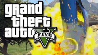 getlinkyoutube.com-GTA 5 - Epic Mt. Chiliad Jump and a Facepalming Finish! (GTA 5 Custom Races and Funny Moments!)
