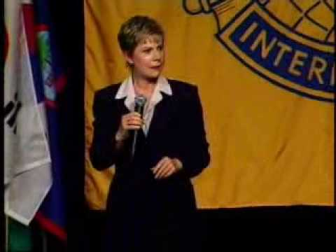 Public Speaking Training Patricia Fripp at Toastmasters International