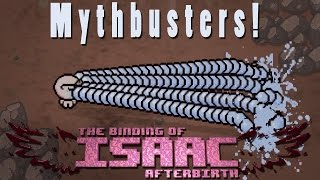 The Binding of Isaac Afterbirth | A Few Mini Myths | Mythbusters