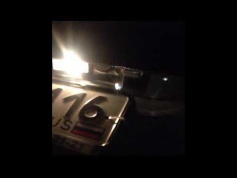 Замена лампы освещения номерного знака на рено Дастер