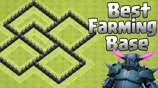 Clash of Clans BEST TH5 FARMING BASE/ Anti Giant Healer WIN DEFENSES