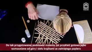 getlinkyoutube.com-Papierowe inspiracje - cz. 5 - ozdoby wielkanocne