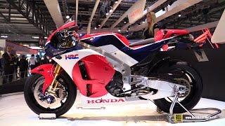 getlinkyoutube.com-2015 Honda RC-213V - Walkaround - Debut at 2014 EICMA Milan Motorcycle Exhibition