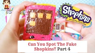 getlinkyoutube.com-Shopkins Game - Can You Spot The Fake Shopkins? Part 4 Mystery Bag, Review, Unboxing