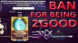 getlinkyoutube.com-Warframe IP Ban, Block - EndGame / Veteran Account Suspension For Being 2 Good!? by Digital Extremes