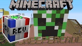 Minecraft: BLOWING UP NOTCH LAND! - (TNT, DYNAMITE, & GUNS!)