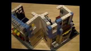 getlinkyoutube.com-レゴクリエイター31026バイクショップとカフェの組み立て・フラワーショップ編