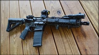 getlinkyoutube.com-Daniel Defense MK18 Short Barrel Rifle
