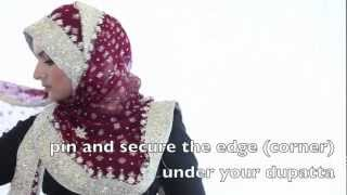 getlinkyoutube.com-InStyleHijab: Sobia's Signature Dupatta Hijab Style