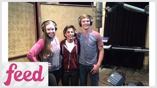 getlinkyoutube.com-Karan Brar Sings 'Bunk'd' Theme Song!