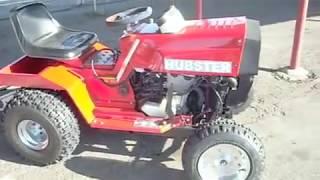 Hayabusa lawnmover