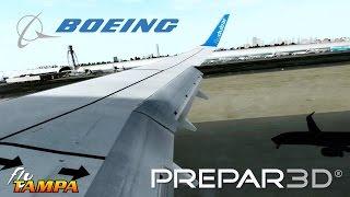 getlinkyoutube.com-Prepar3D V3.4 - 737 landing Dubai OMDB [Amazing Realism]