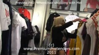 getlinkyoutube.com-P40 - Wheelchair paraplegic pretending girl Mel