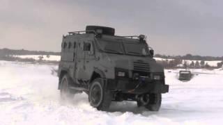getlinkyoutube.com-Varta-2 Varta 4x4 APC armored personnel carrier trial test by Ukrainian National Guard of Ukraine