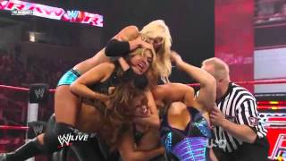getlinkyoutube.com-WWE RAW Mickie James vs Kelly Kelly vs Beth Phoenix vs Rosa Mendes   YouTube