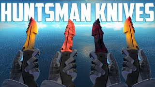 getlinkyoutube.com-CS:GO - Huntsman Knives - All Skins Showcase + Price | Все Скины Huntsman Knives + Цены