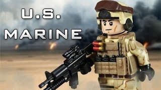 getlinkyoutube.com-Custom LEGO U.S. Marine