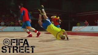 getlinkyoutube.com-Fifa Street Gameplay Xbox 360- España Vs Brasil, Un duelo de proporciones EPICAS