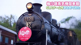 getlinkyoutube.com-【SL比較・汽笛聞き比べ!】SLスチーム号4種類まとめてみた!/ 梅小路蒸気機関車館 京都鉃道博物館 / 8630・C612・D51200・C622・義経号