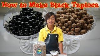 getlinkyoutube.com-How to Make Black Tapioca for Bubble Tea