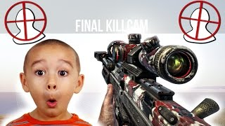 getlinkyoutube.com-12 Year Old Trolled by AIMBOT TRICKSHOTS on Black Ops 2
