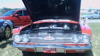 getlinkyoutube.com-1960 Chevy Impala Convertible Red ZH021717