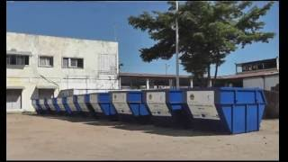 Ircod - Projet ASSMA: Remise de 10 bennes à ordures