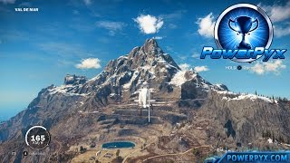 getlinkyoutube.com-Just Cause 3 - Top of the World Trophy / Achievement Guide (Highest Point of Medici)