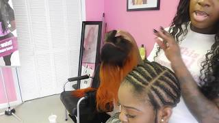 getlinkyoutube.com-Lace Closure Sewin Tutorial (step by step )