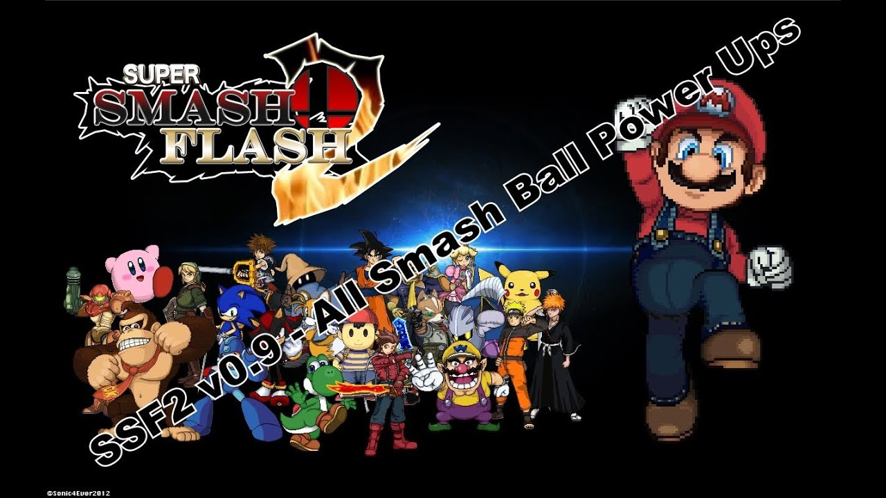 descargar super smash bros flash 2 v0.9