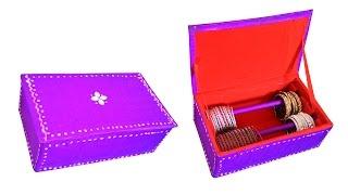 getlinkyoutube.com-How to make bangle box / DIY bracelet box