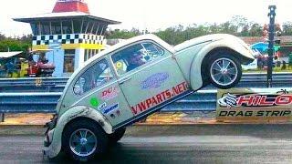 getlinkyoutube.com-#95 Hawaii Motorhead Magazine Hilo VW Bug-In 2013 Wheel Stands