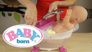 getlinkyoutube.com-BABY born - Interaktywna Wanna z prysznicem 818183
