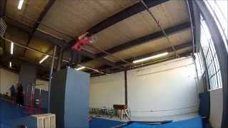 getlinkyoutube.com-The Monkey Vault : Parkour Gym Toronto : Devin Stavert