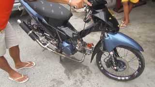 getlinkyoutube.com-Wave 125 converted Wave 158cc with Mio top end