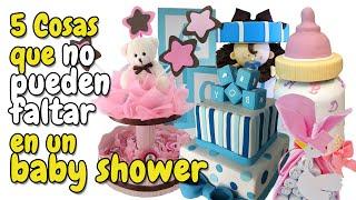 getlinkyoutube.com-5 Cosas que no pueden faltar en tu Baby Shower HD