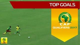 Les meilleurs buts de la 3eme journée de la Coupe d'Afrique des Nations - Qualifications 2017