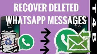 getlinkyoutube.com-how to recover whatsapp deleted messages, restore retrieve WhatsApp Messages chat   Whatsapp Tricks