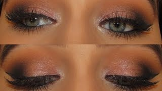 getlinkyoutube.com-Soft Peach Smokey Eye   Anastasia Eyeshadows