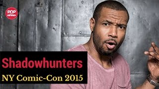NYCC 2015: Isaiah Mustafa e Ed Decter de Shadowhunters