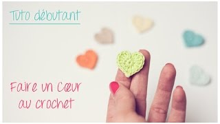 getlinkyoutube.com-Mini coeur au crochet pour débutant / Crochet an easy tiny heart