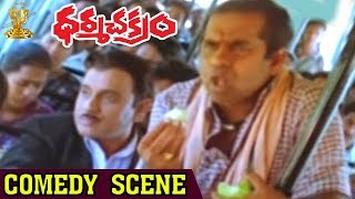 getlinkyoutube.com-Brahmanandam,AVS  Comedy Scene in Bus | Dharmachakram | Venaktesh | Nayanatara