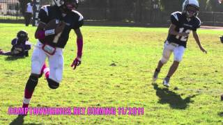 getlinkyoutube.com-COMPTON VIKINGS JR.PEEWEE vs LEIMERT PARK CHARGERS BATTLE OF THE UNDEFEATED  (THE O.M.G GAME)