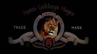 MGM logo (1957 with all lion roaring sound effects)
