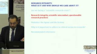 Marco COSENTINO (University of Insubria, I) - RESEARCH INTEGRITY: WHAT IS IT AND WHY SHOULD WE CARE?