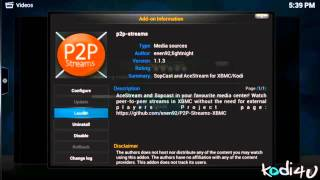 getlinkyoutube.com-How to Install P2P Streams Addon For .Kodi - XBMC 2015