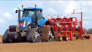 Potato Planting XXL | New Holland T8050 (400HP) + Grimme GL860 Compacta planter | Koolen Bergeijk